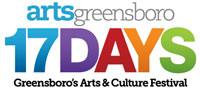 arts greensboro 17days