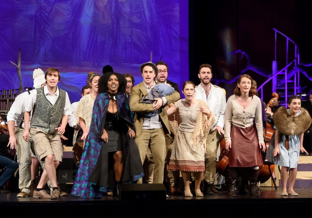 Cast of Into the Woods in Concert - 2016