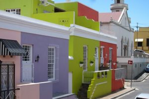 bokaap colorful houses