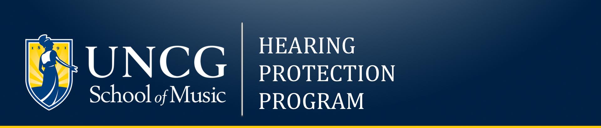 UNCG Hearing protection program