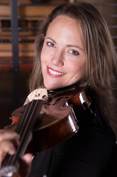 rebecca macleod holding violin