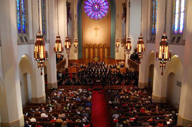 choirs singing