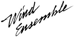 wind ensemble logo