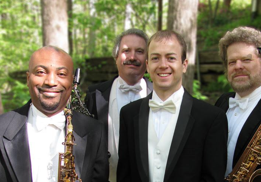 New Century Saxophone Quartet group photo