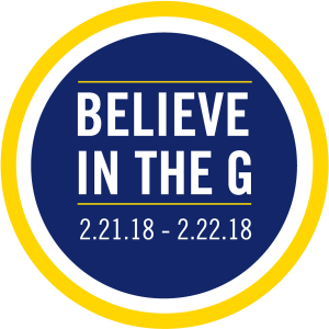 Believe in the G logo