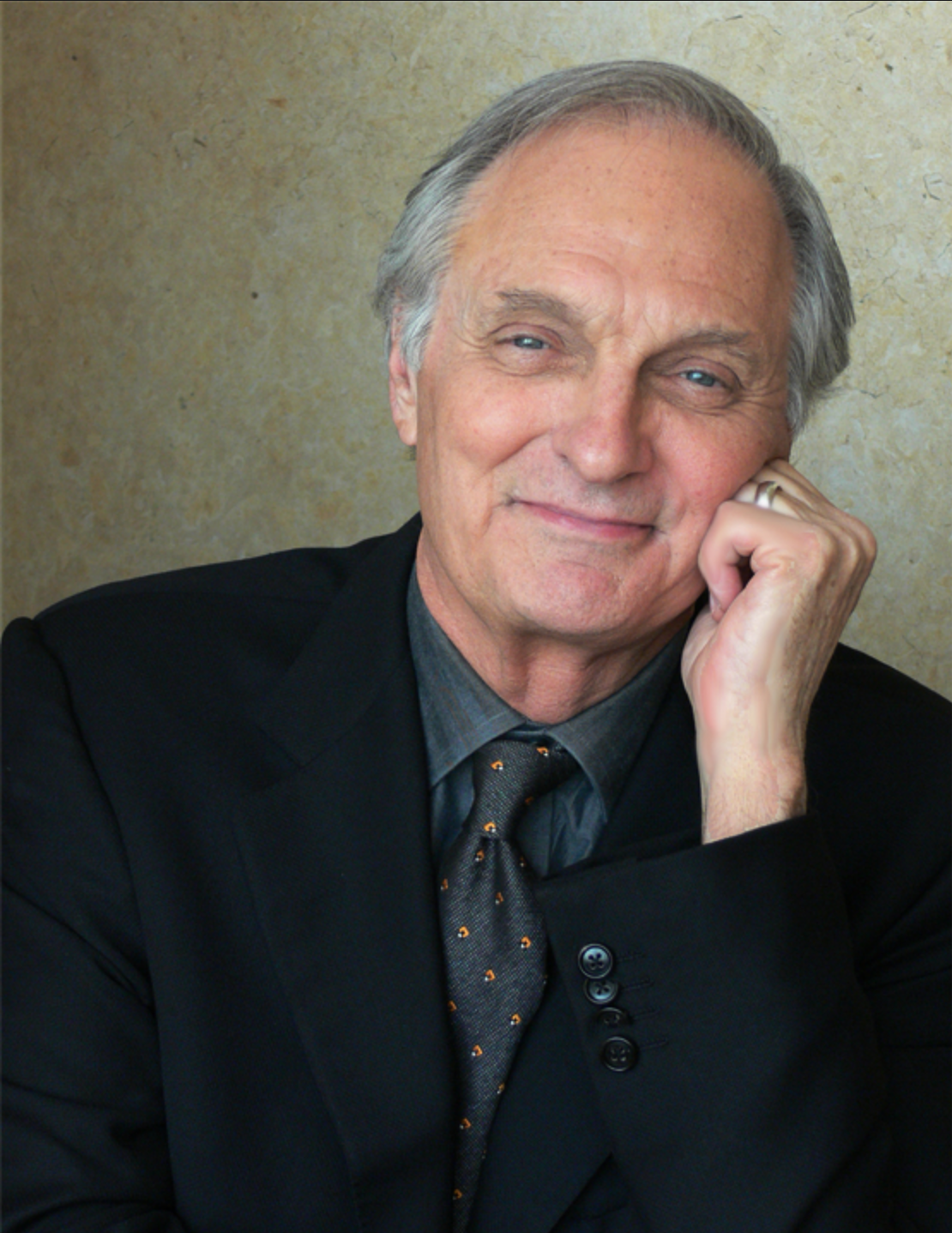 Alan Alda portrait