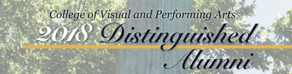 Distinguished Alumni Awards | College of Visual and