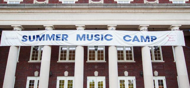 Summer Music Camp Header