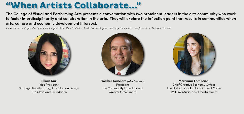 When Artists Collaborate Digital Board