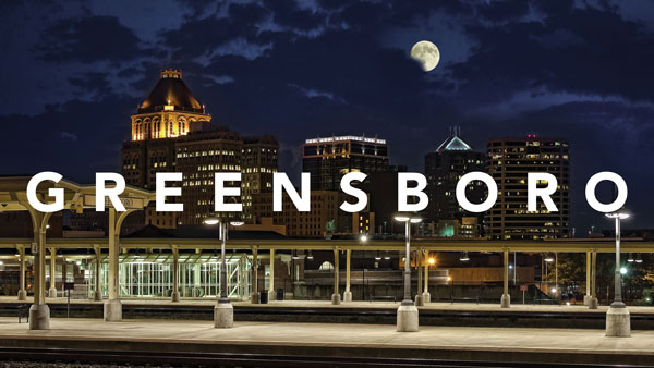 Photo courtesy of the Greensboro Convention and Visitors Bureau