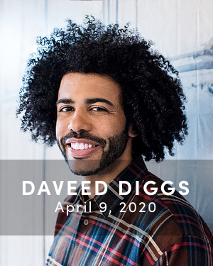 Daveed Diggs, April 9, 2020