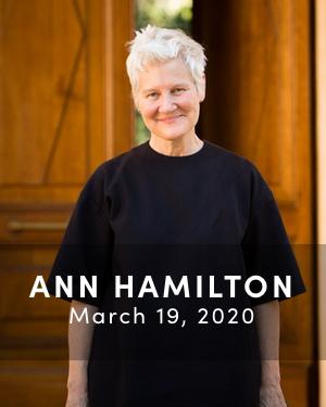 Anne Hamilton, March 19, 2020