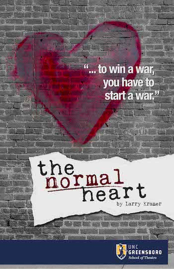 Normal Heart Show Art