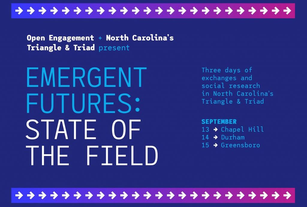 open engagement splash image