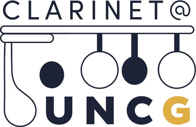 Clarinet at UNCG logo