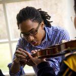 string teacher