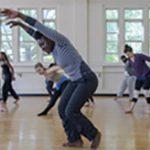 dancers in studio