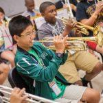 trumpet student