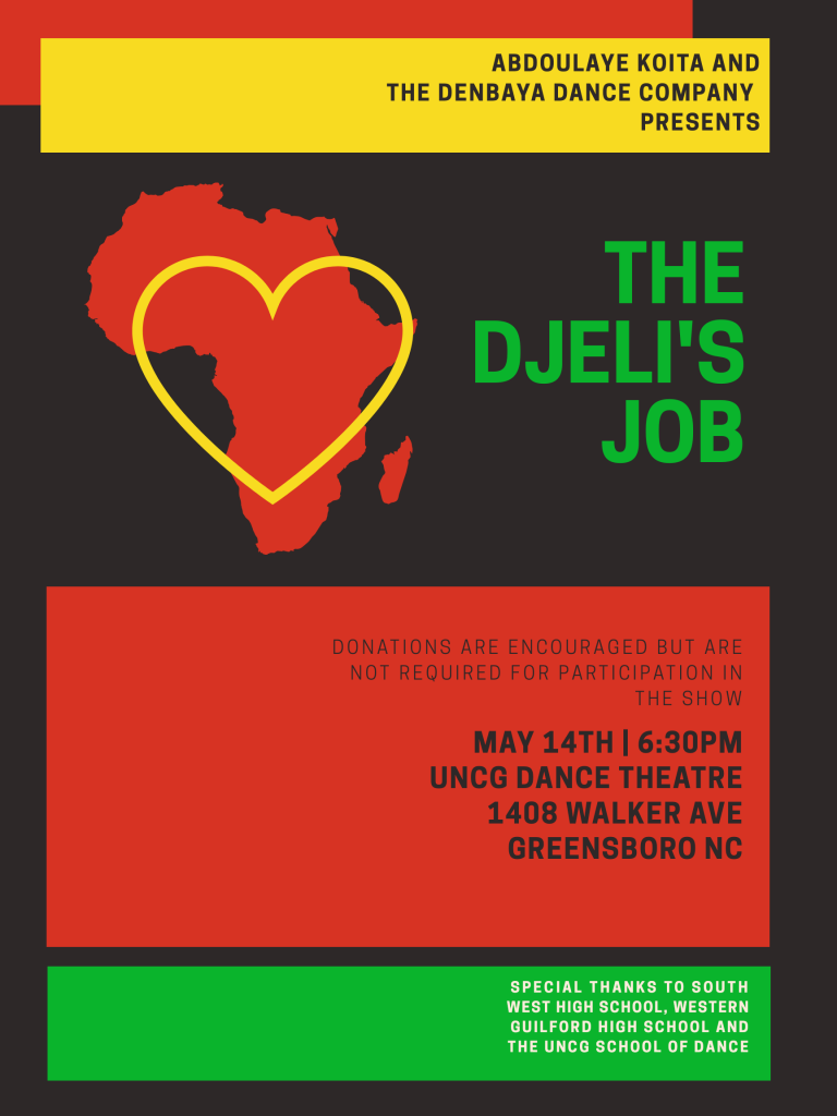 UNCG Dance Student in Collaboration with Local High Schools Tell Stories of  the African Diaspora | College of Visual and Performing Arts