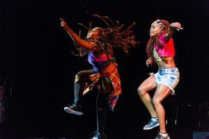 dancers performing Black Girl: Linguistic Play