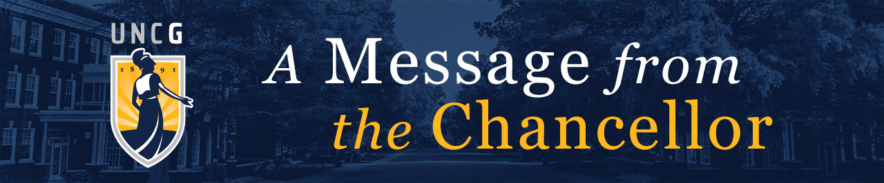 Message from Chancellor