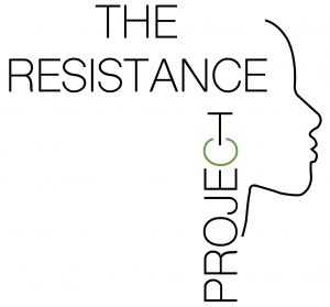 Logo for The Resistance Project.