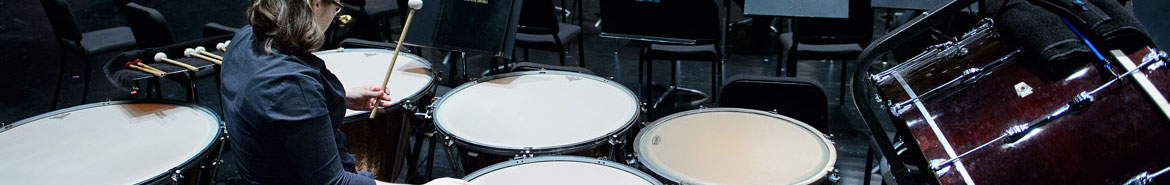Percussion Area Header