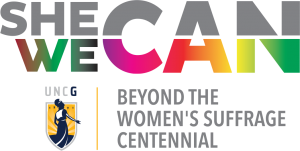 She Can, We Can Logo