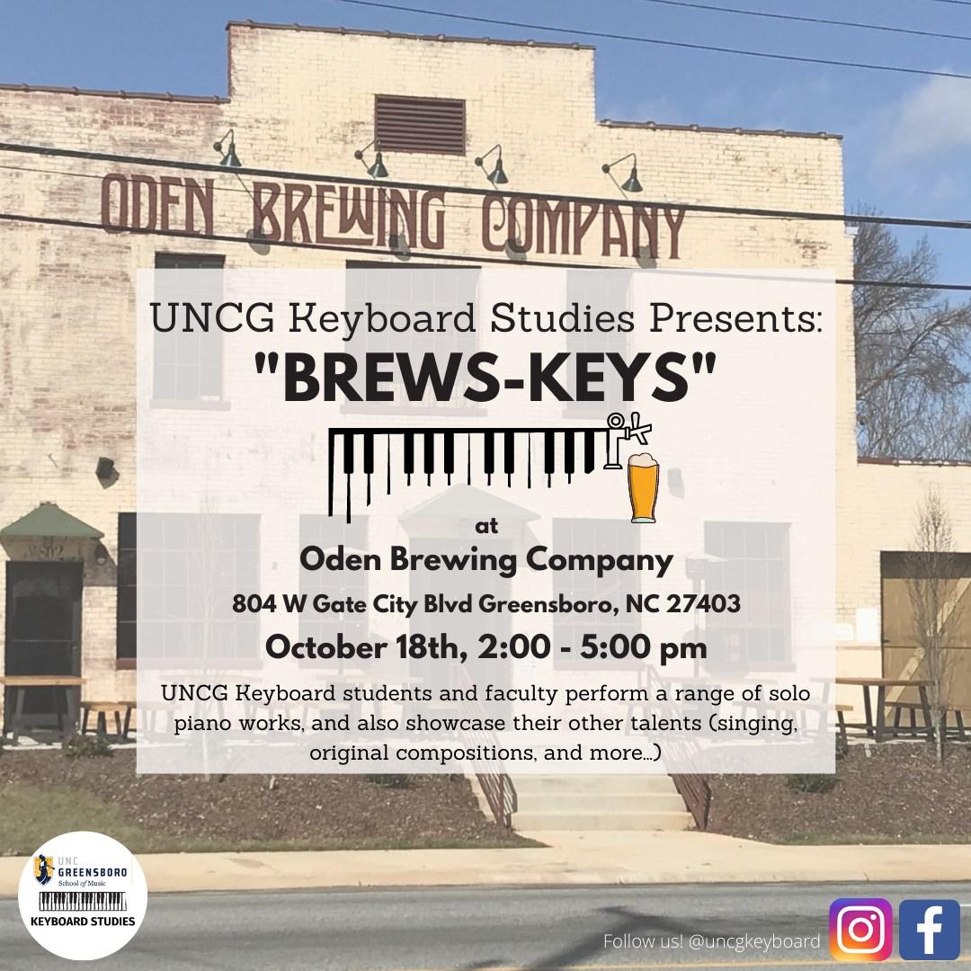 """""""Brews-Keys"""" Poster"""