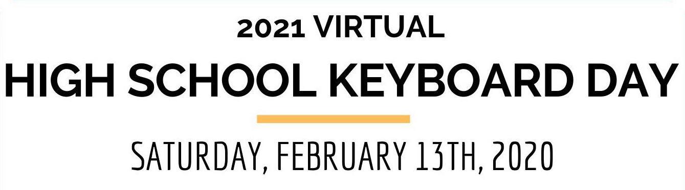 High School Keyboard Day Header