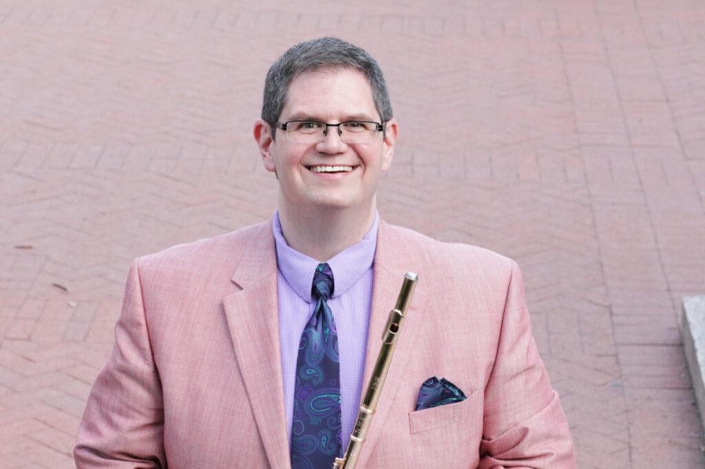 photo of Tim Hagen, Visiting Professor of Flute