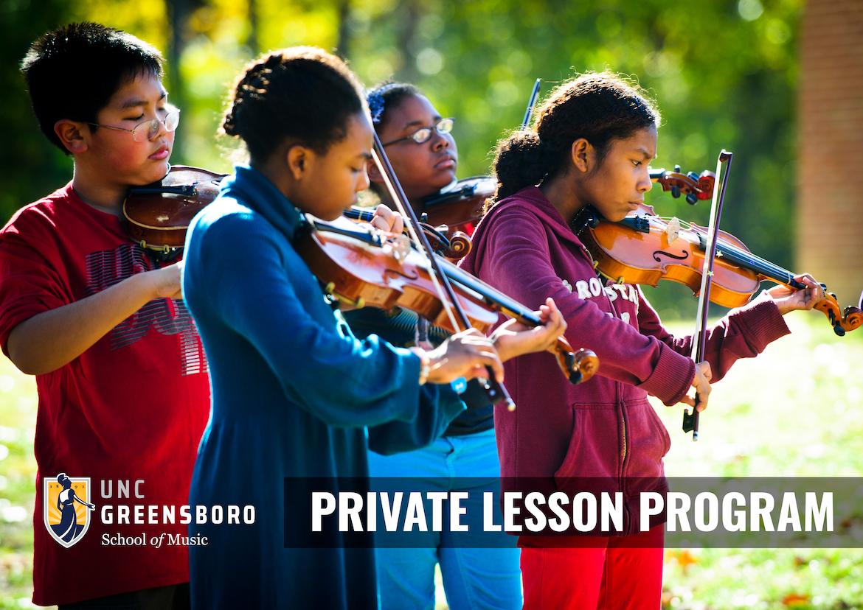 Private Lessons Program Banner