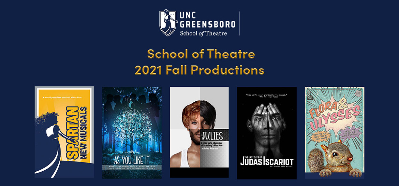 School of Theatre Fall Season Image