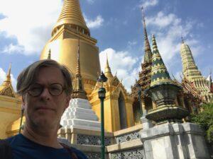 Music professor Gavin Douglas in Thailand