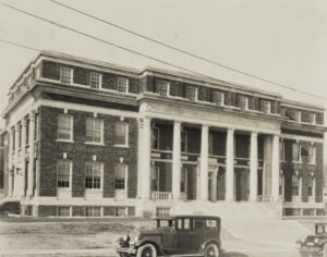 Brown Music Building in 1927