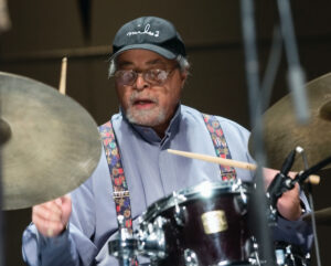 Jimmy Cobb on drums