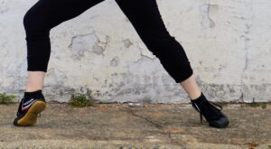 image of a dancer's legs