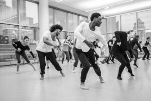 dancer class at Alvin Ailey
