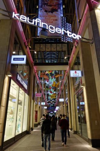 One of Munich's many shopping streets