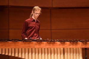 Isaac Pyatt, marimba (junior)Student of Dr. Eric Willie