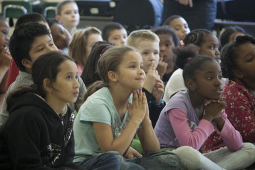 students in audience